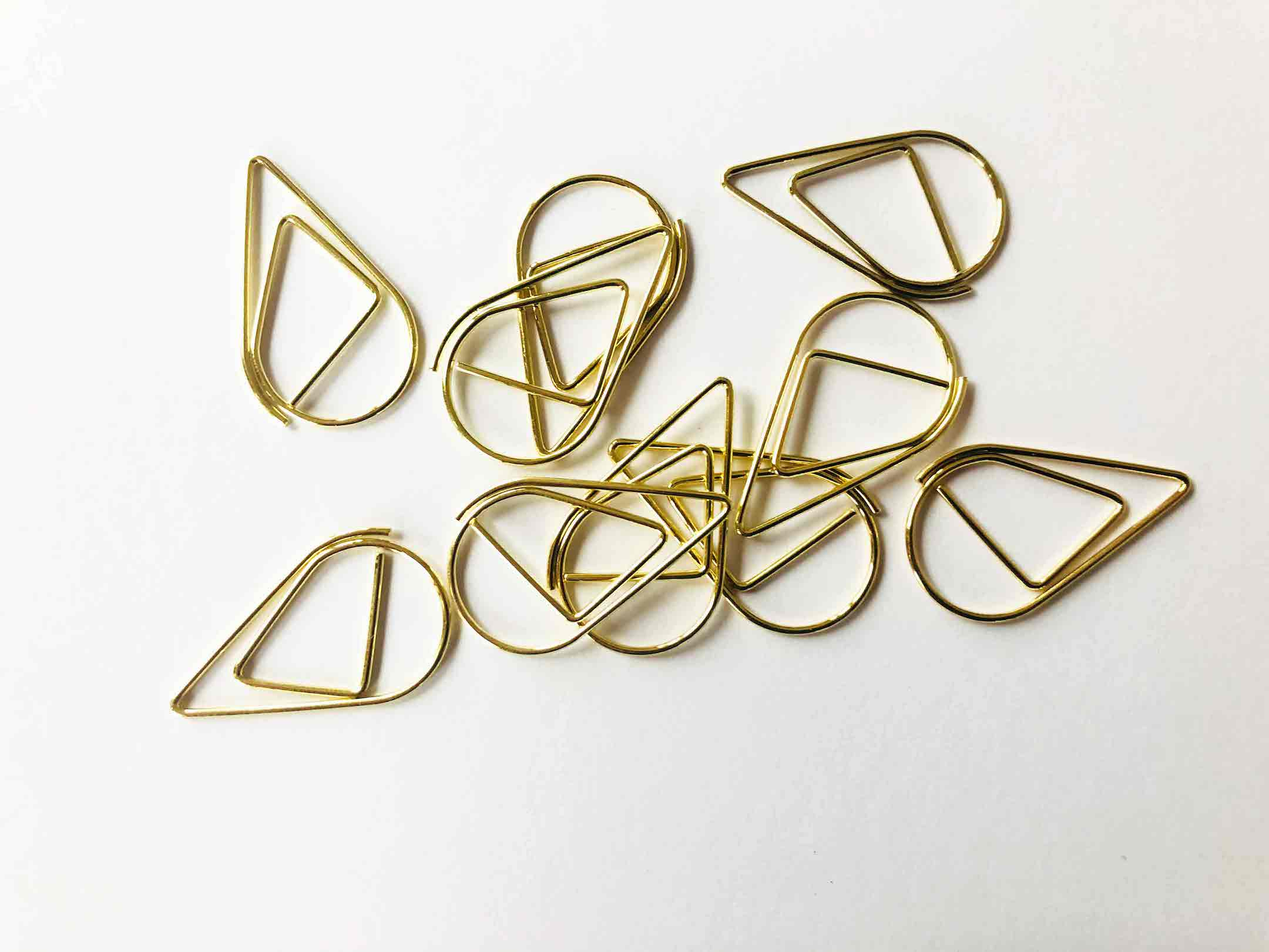 Paperclips-goud